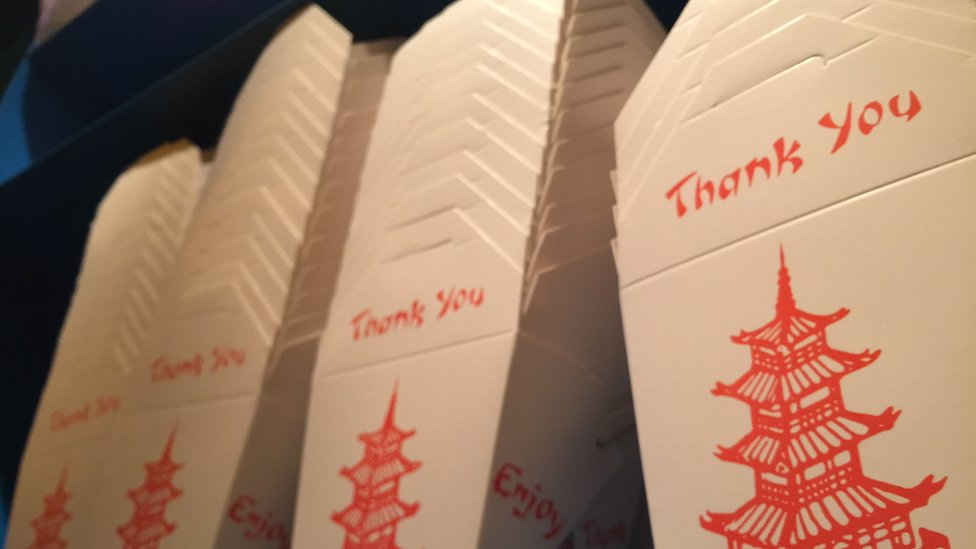 more delivery cartons not found in China