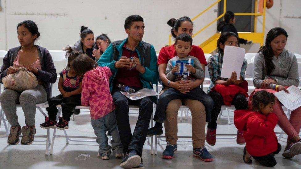 Migrantski centar u El Pasu