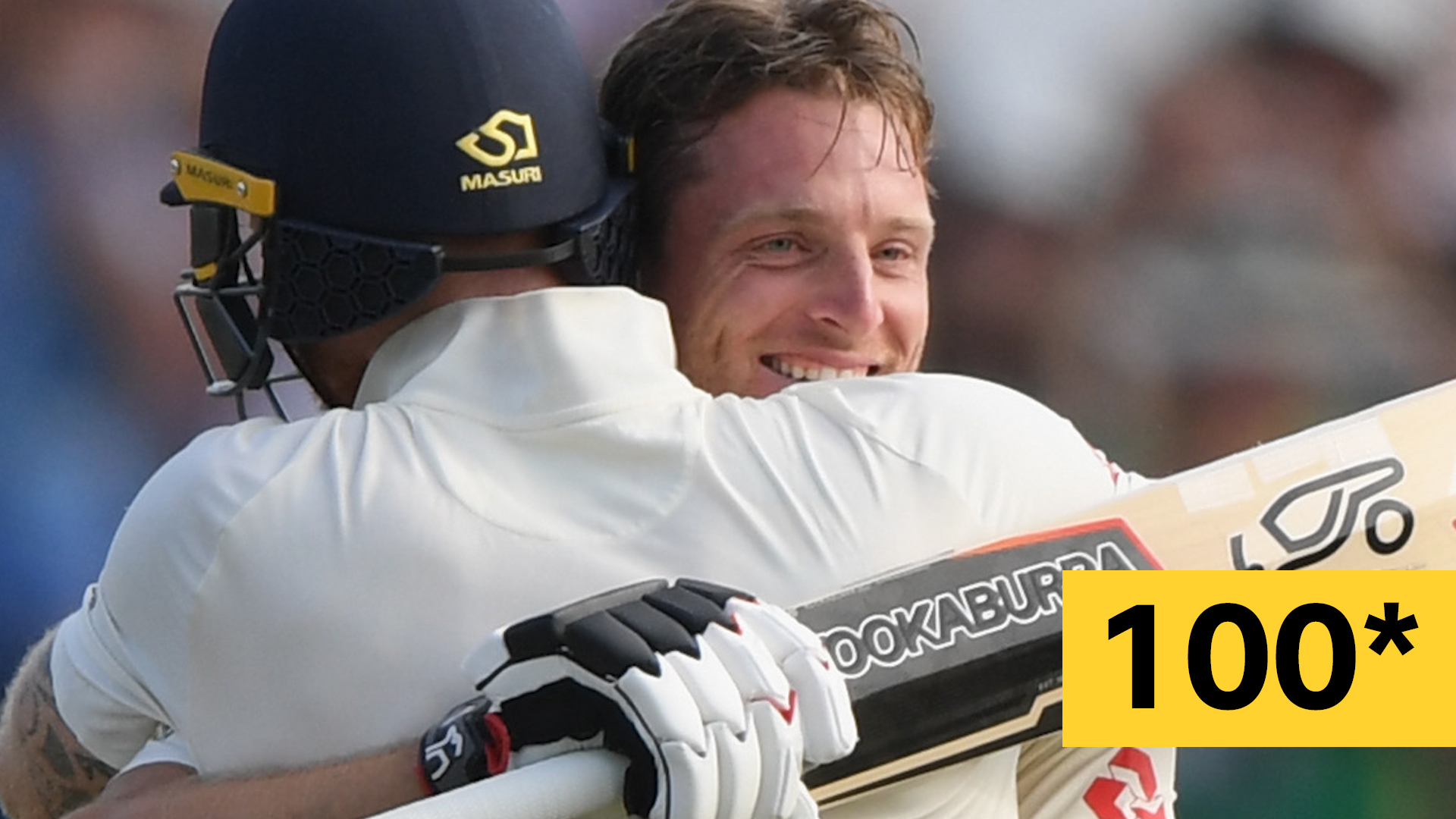 England v India: Jos Buttler scores 'brilliant' maiden Test century