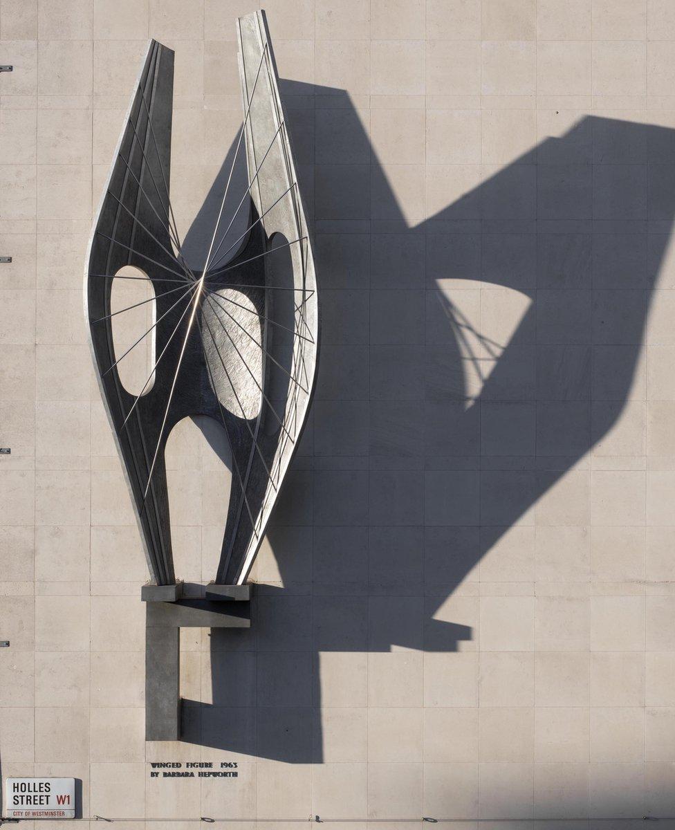 Winged figure by Barbara Hepworth