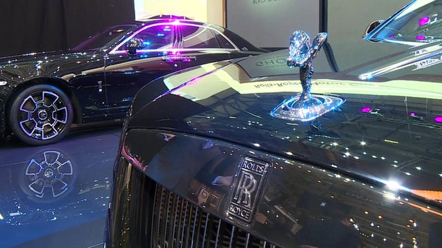 Rolls-Royce stand at Geneva motor show