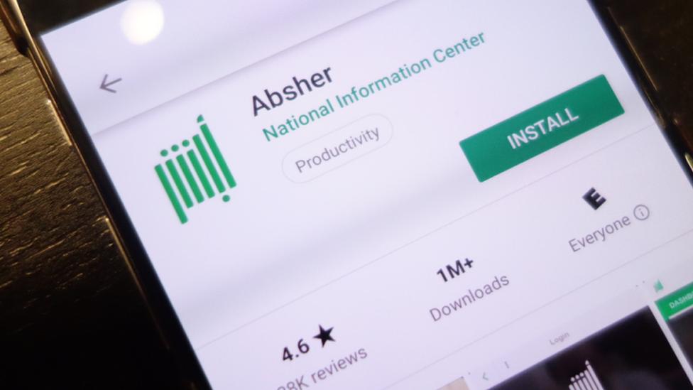 Absher ha sido descargada más de un millón de veces.