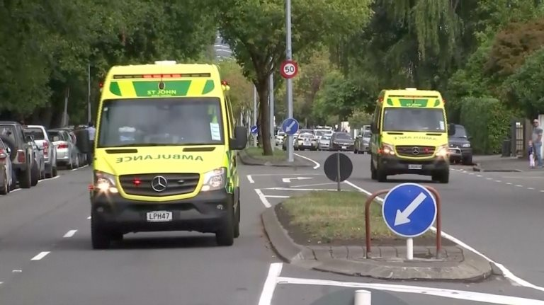 ambulancias de Christchurch