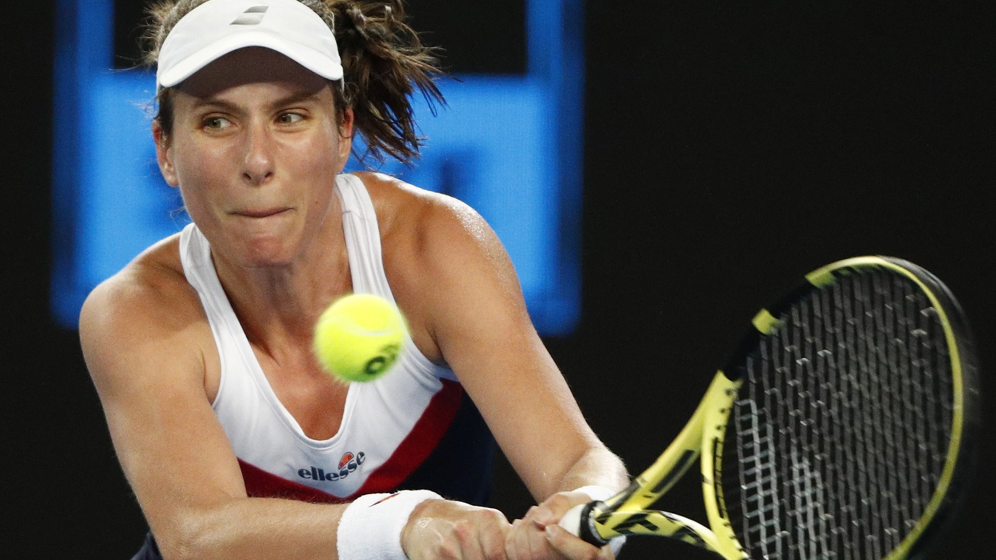 Britain's Konta loses to Muguruza in 'dangerous' 3am finish