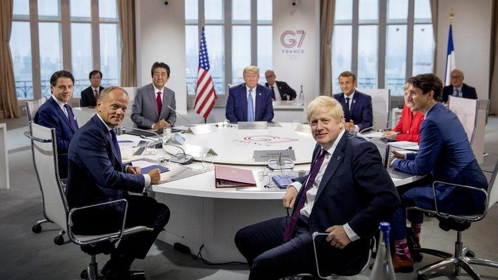 KTT G7 2019 di Biarritz