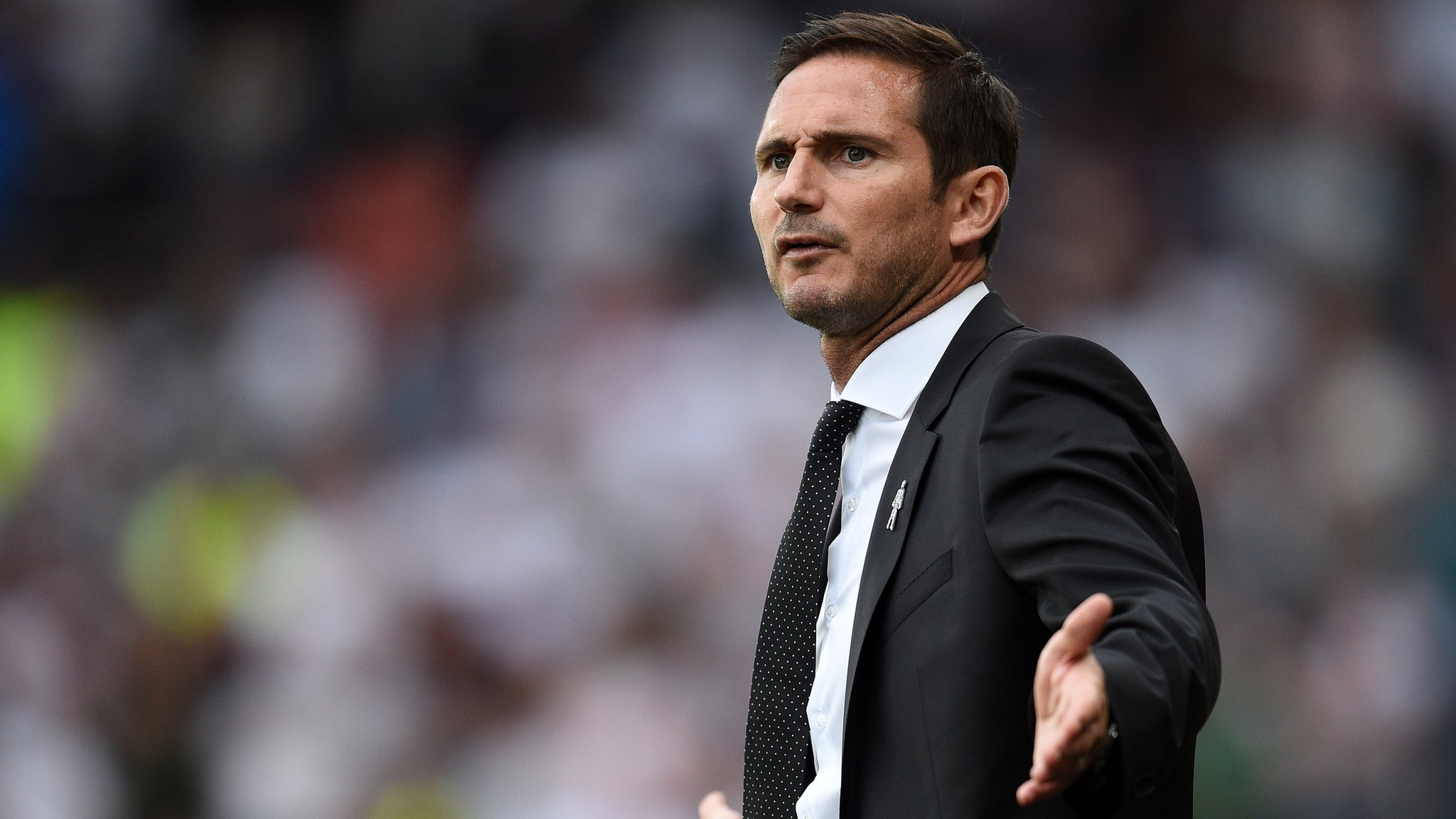 Frank Lampard: Derby County manager fined by FA for improper conduct