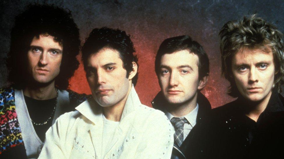 La banda Queen