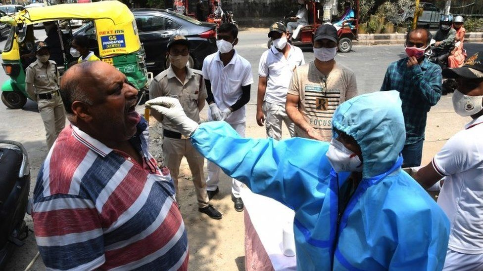 شهدت الهند ارتفاعا حادا في أعداد الإصابة