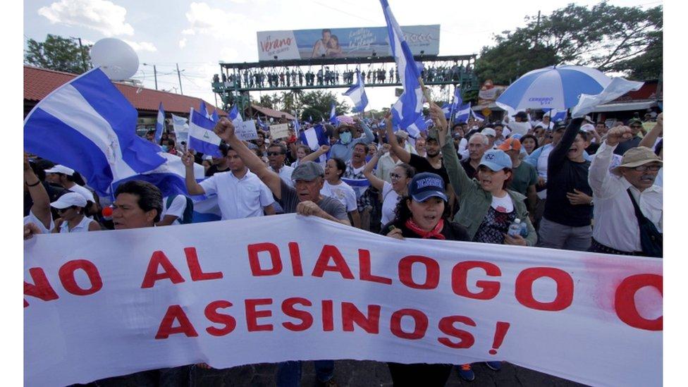 Hay quienes piden la salida de Ortega y no quieren el diálogo.