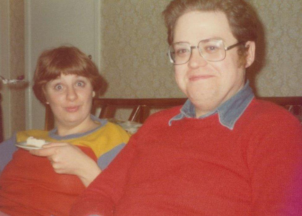 Victoria Wood and Geoffrey Durham