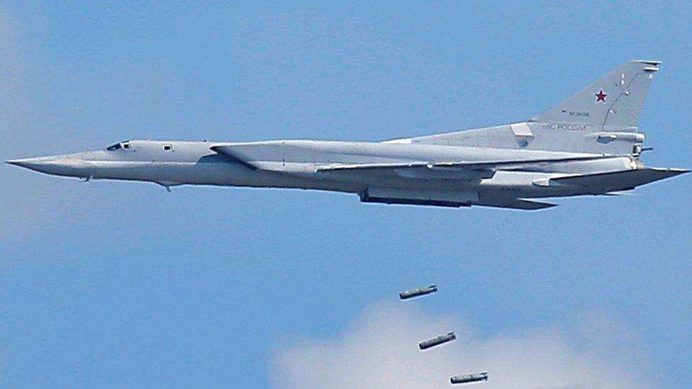 Tu-22M3 on exercises in Russia, 5 Aug 2016