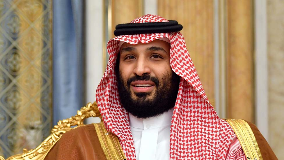 Príncipe Mohammed bin Salman.
