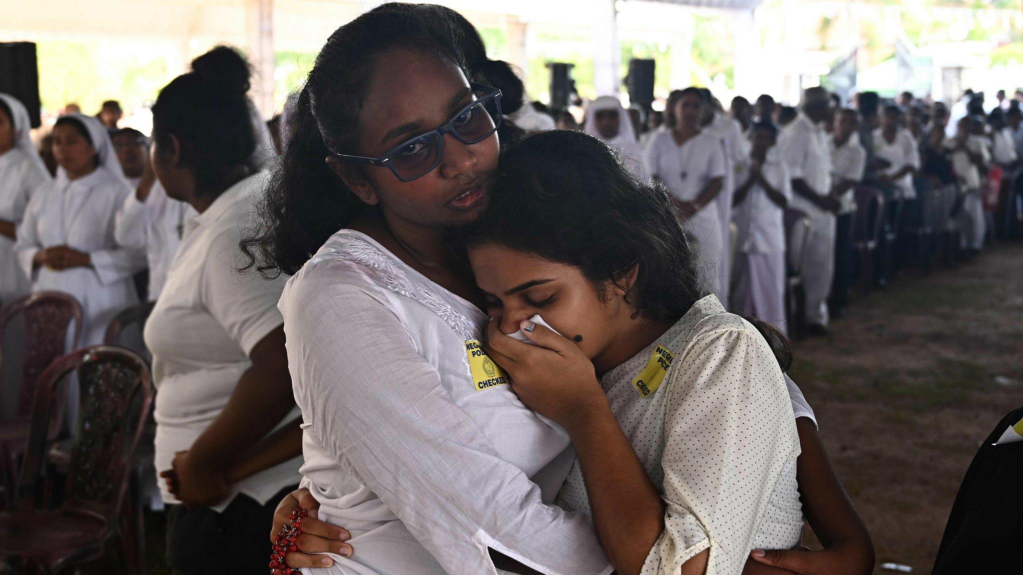 Sri Lanka attacks: Mass funerals held as nation mourns