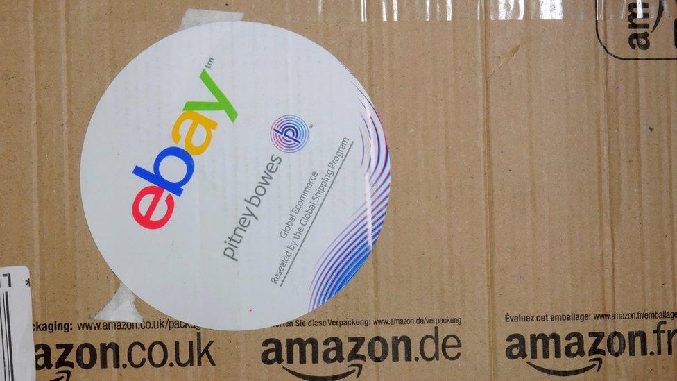 eBay intenta desprenderse de su imagen de mercado de segunda mano, menos moderna que Amazon.