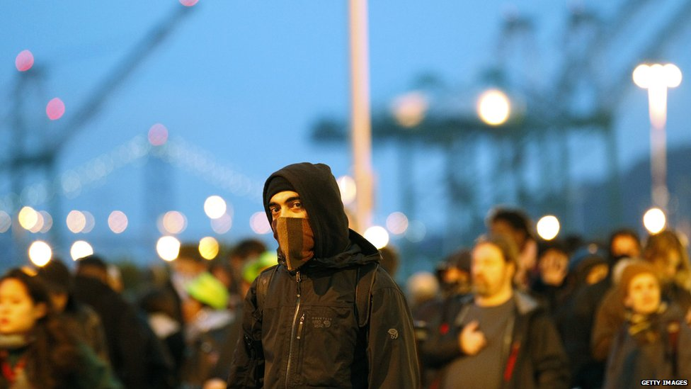 Occupy Oakland protests