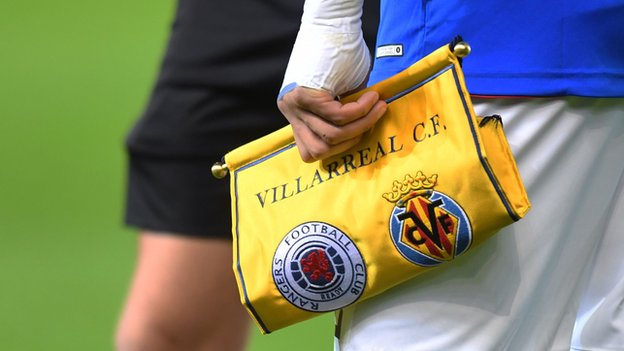 Rangers fined and warned by Uefa after Europa League incidents