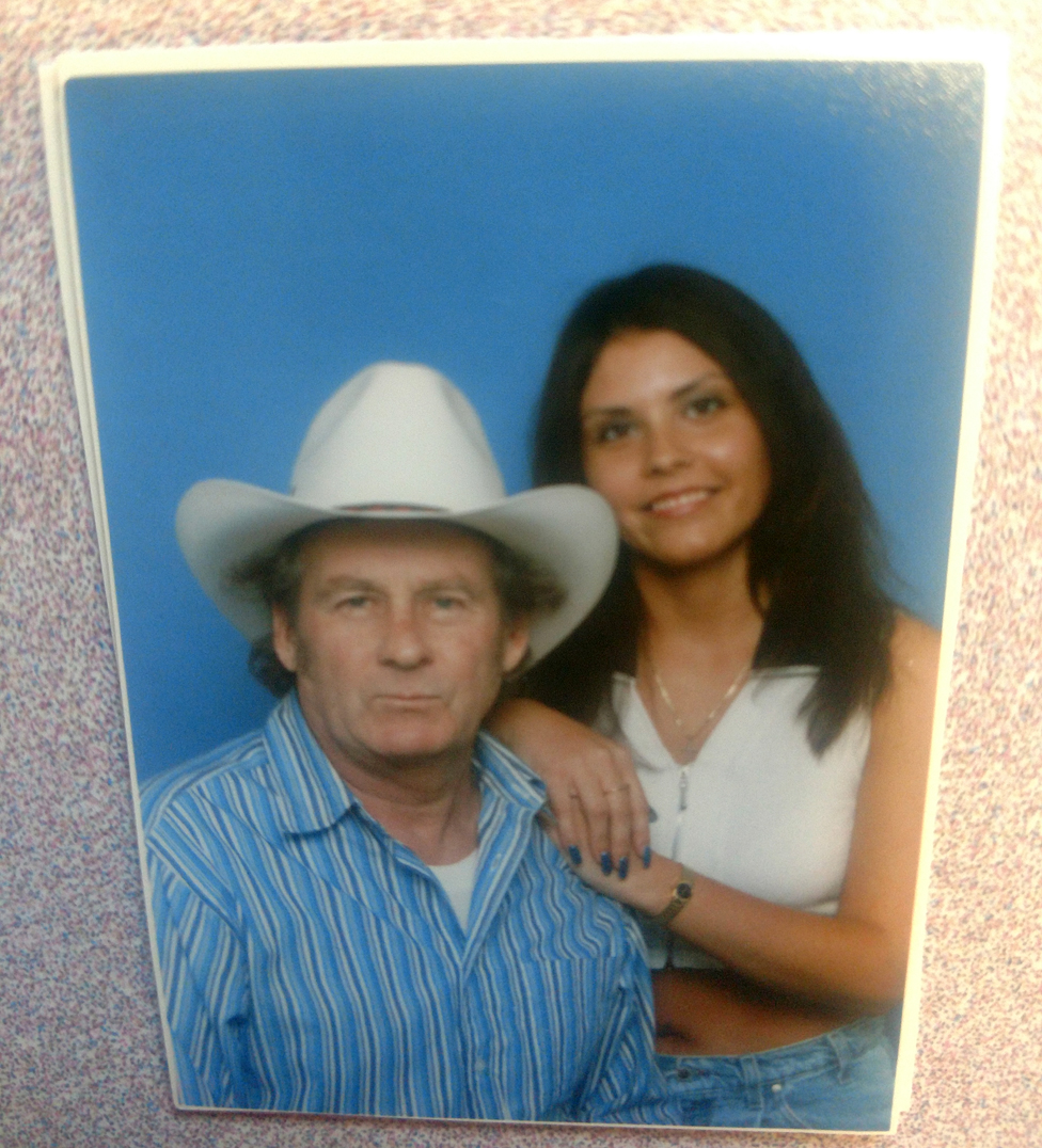 Betty Jo and her father