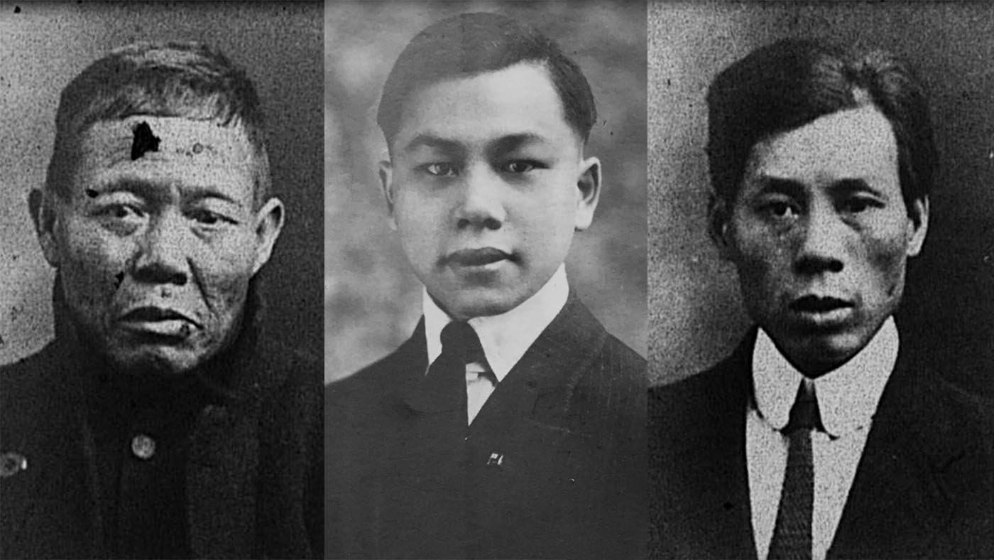 Ah Lam, Fang Lang y Ling Hee