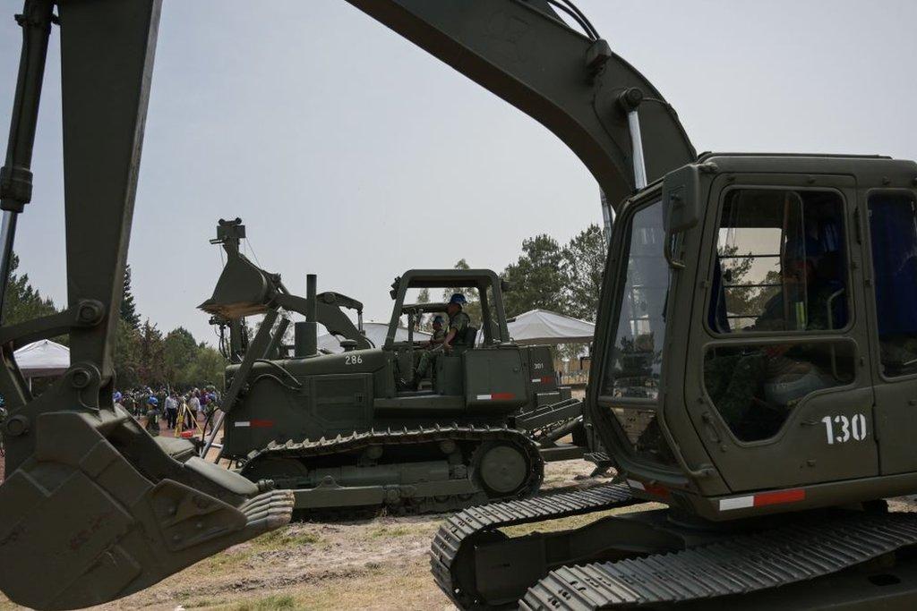 Maquinaria de construcción militar