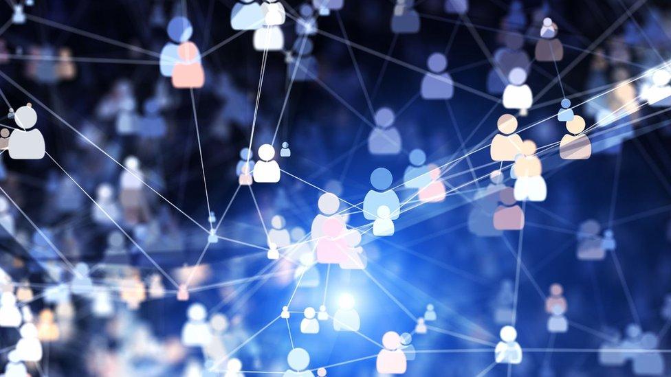 Íconos de personas conectadas