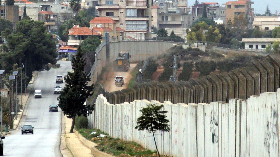 المنطقة الحدودية بين لبنان وإسرائيل