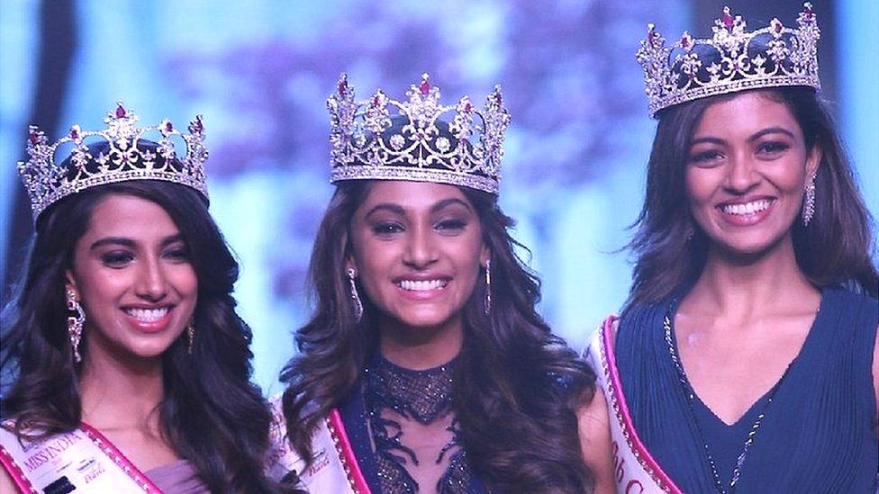 Image result for 'मिस इंडिया 2018' बनीं 19 वर्ष की अनुकृति वास