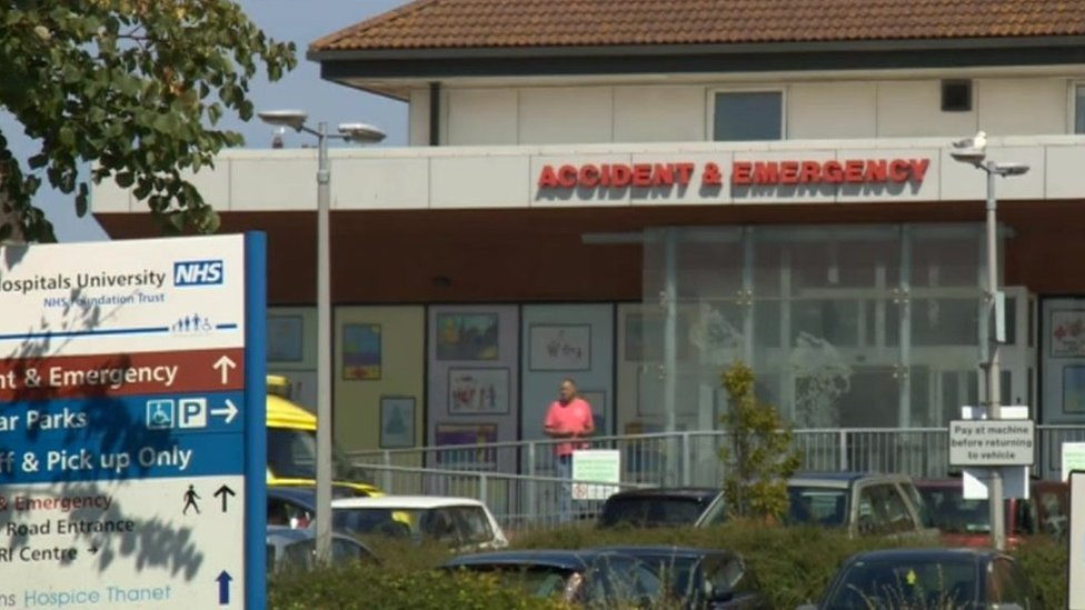 Four charged over power cut at Margate's QEQM hospital