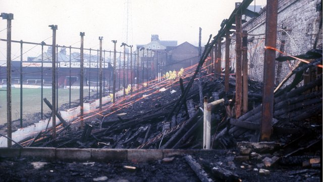 Bradford City fire disaster remembered
