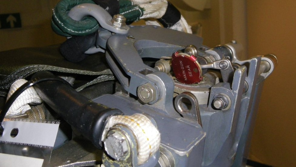 The ejection seat mechanism