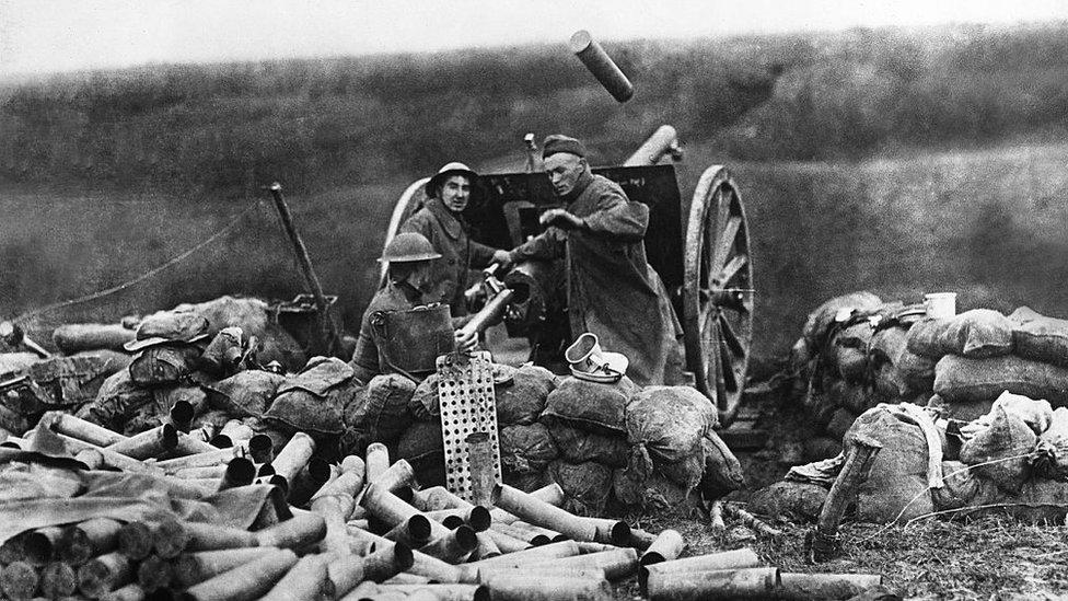 Primeira Guerra Mundial.