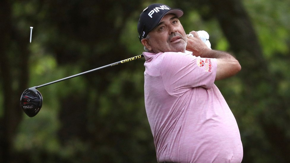 Champion golfer Ángel Cabrera 'arrested in Brazil' over alleged assault thumbnail