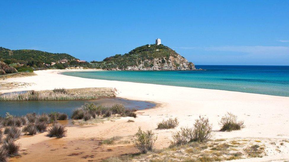 Sardinija plaža