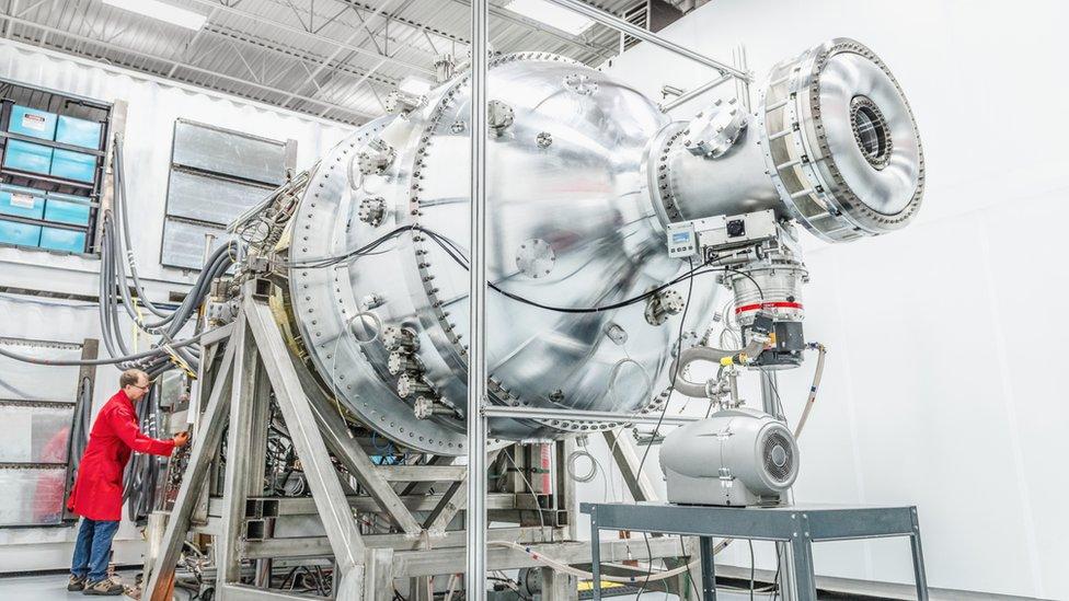 Un reactor de General Fusion