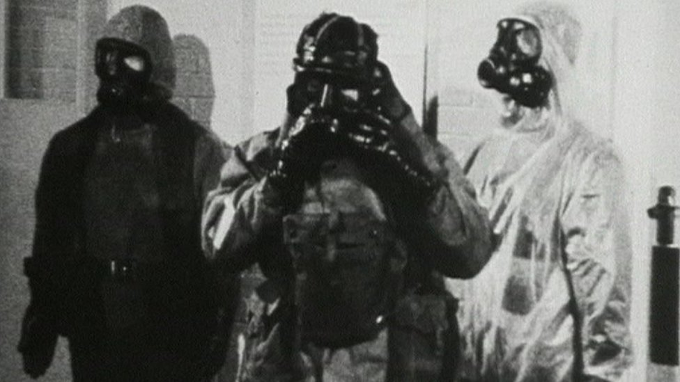 Porton Down lab - nerve agent testing during the Cold War