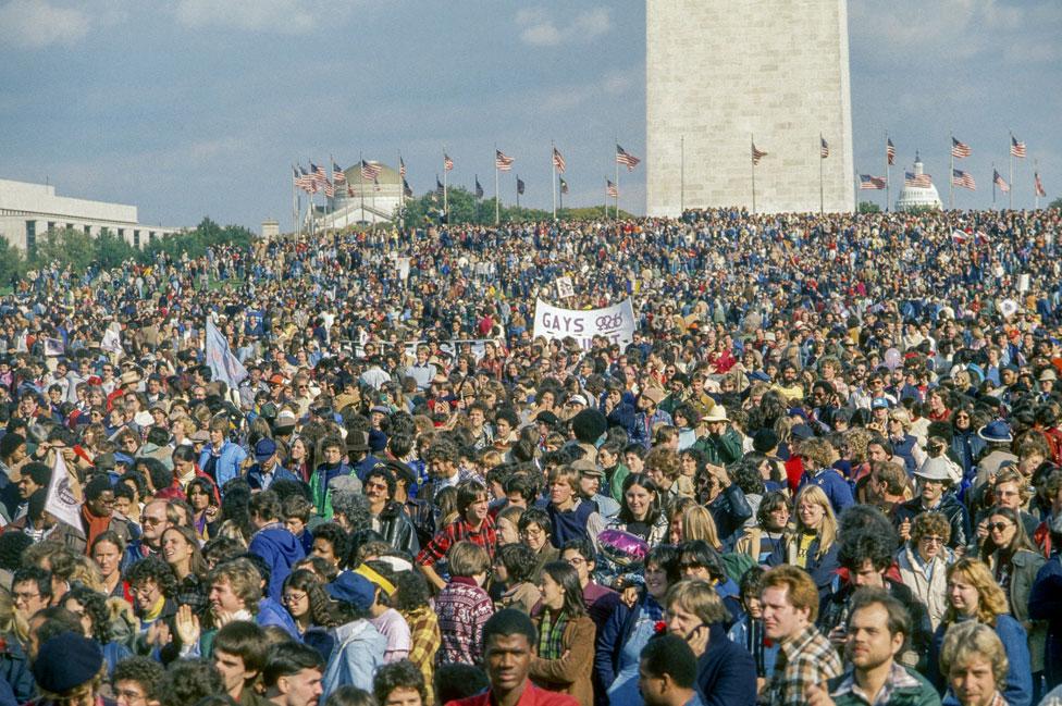 Nacionalni marš na Vašington popunio je slavno šetalište