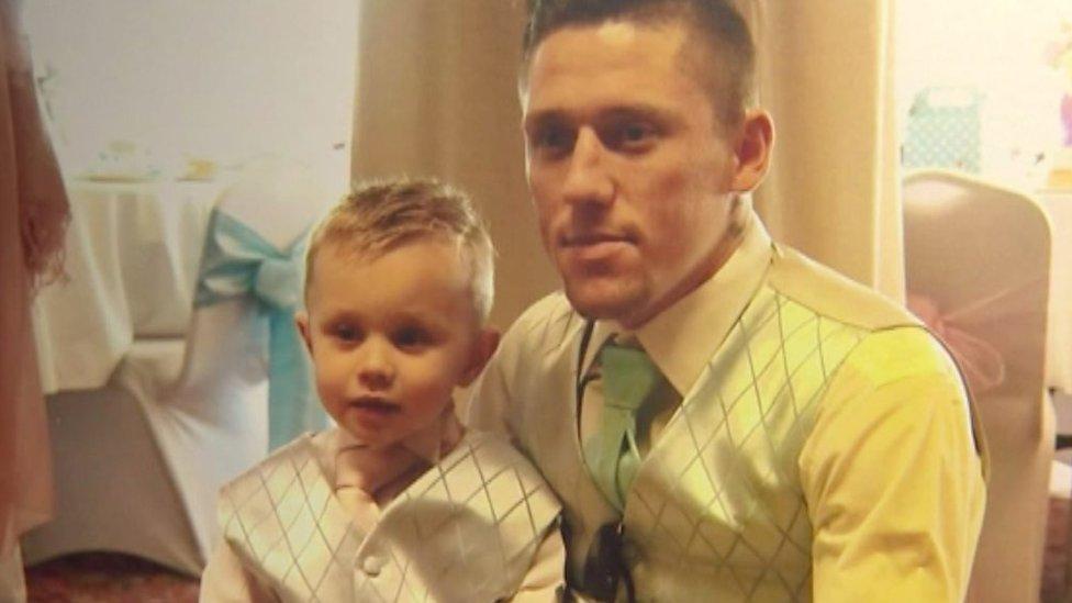 Wareham crash father's devastation over killed son