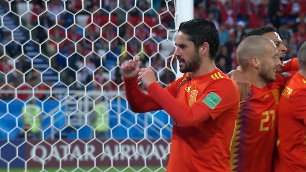 World Cup 2018: Isco strike brings Spain level against Morocco