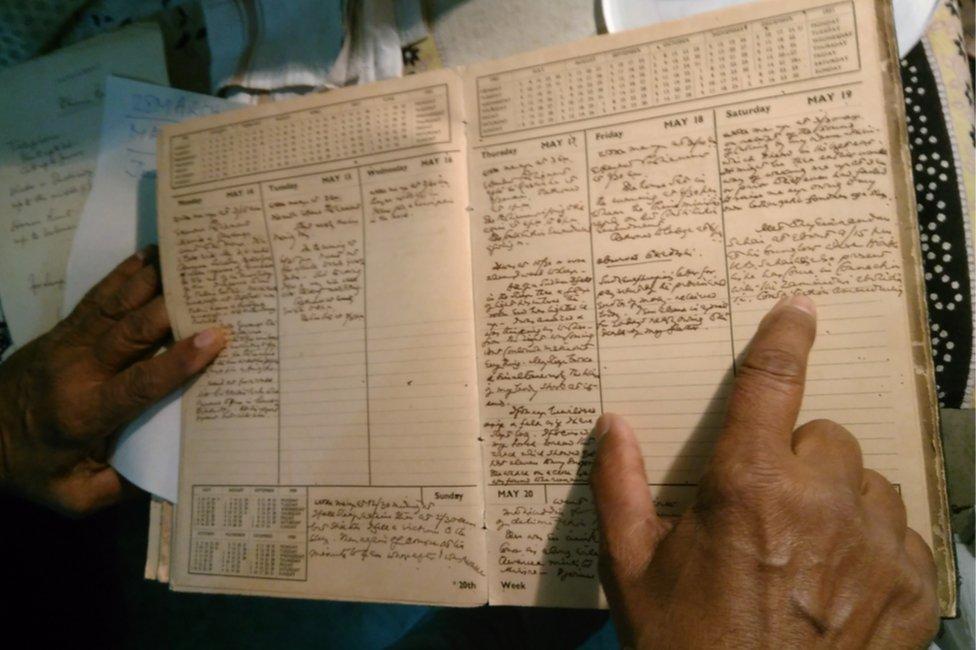फनी गोपाल सेनगुप्ता की डायरी