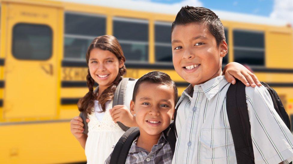 Niños latinos en Estados Unidos