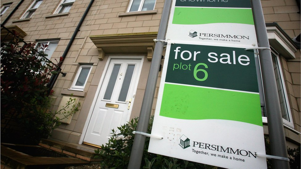 Persimmon for sale sign