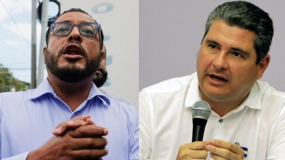 Félix Maradiaga y Juan Sebastián Chamorro