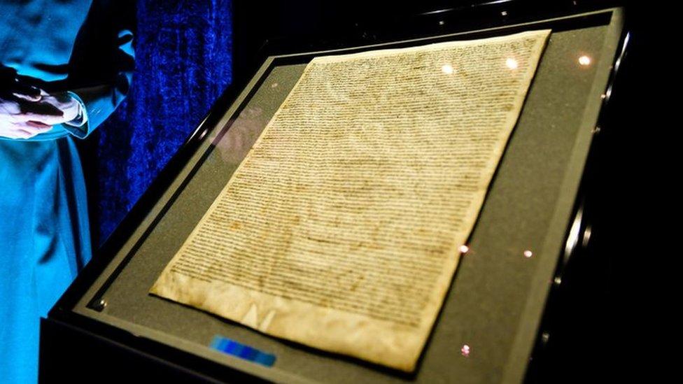 Magna Carta at Salisbury Cathedral