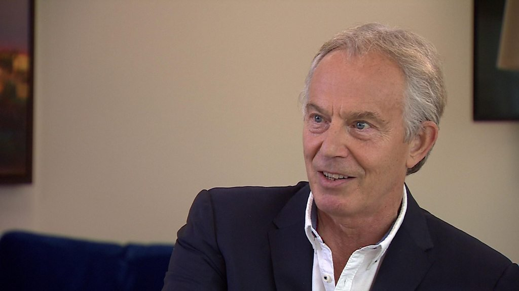 Blair: PM's Brexit 'doesn't honour public mandate'