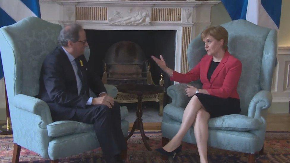 Torra and Sturgeon