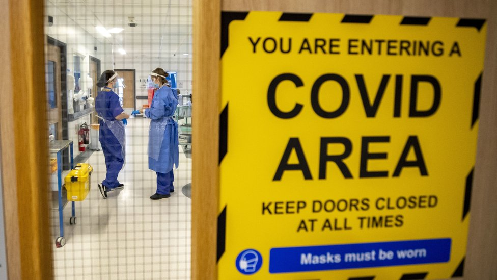 Covid Shuts 17 Greater Glasgow And Clyde Hospital Wards Bbc News
