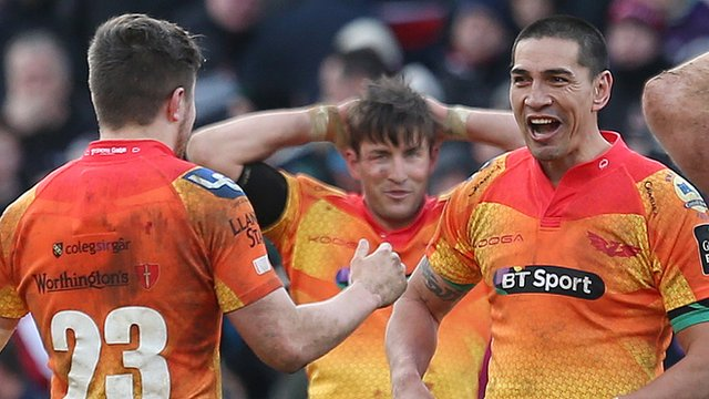 Scarlets clinched a 21-20 Pro12 victory over Ulster