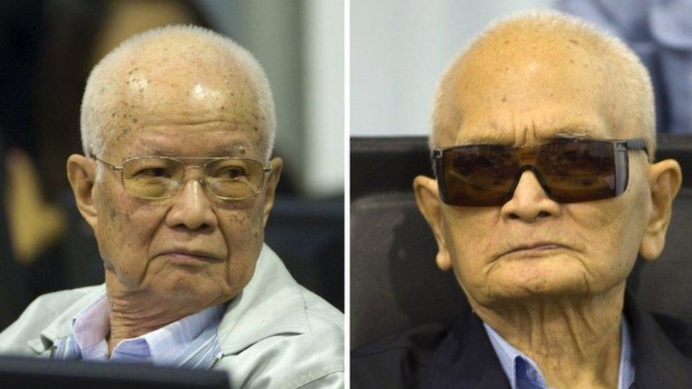 Kije Sampan i Nuon Čea na suđenju u Pnom Penu