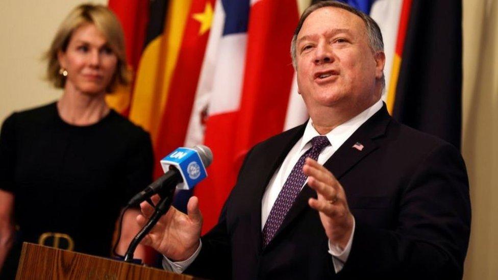 قدمت كيلي كرافت ومايك بومبيو شكوى إلى مجلس الأمن الدولي يوم الخميس