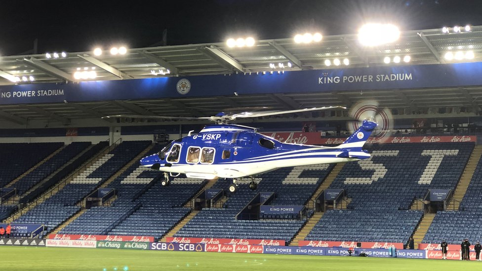 Leicester City crash helicopter rotor controls failed