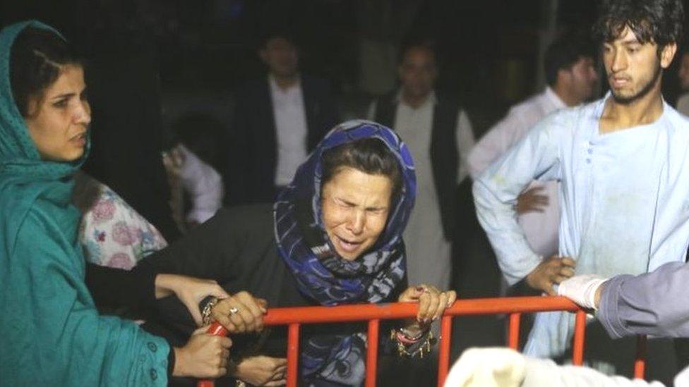 अफ़ग़ानिस्तानः काबुल में शादी के दौरान बम धमाका, 63 लोगों की मौत